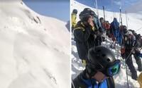 Švýcarské lyžařské středisko zasáhla lavina. Záchranáři pátrají po pohřešovaných