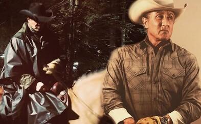 Sylvester Stallone už natáča Ramba 5. Vyzerá pritom ako vidiečan