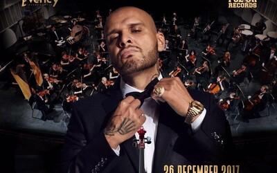 Symfonický orchester a slovenský rap? Rytmus si plní sen, búra hranice hudobných žánrov a posúva úroveň živých vystúpení
