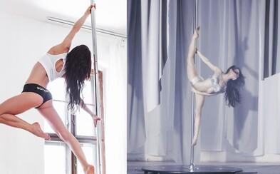 Sympatická a ambiciózna inštruktorka pole dance, Nina Peráčková, v nádhernom krátkom filme NINA plnom emócií