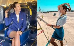 Sympatická Slovenka Jana lieta ako letuška v Ryanairi. Sedieť 8 hodín denne v kancli ju nebavilo, tak dnes žije na Mallorce