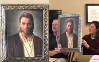 Syn nachytal veriacich rodičov obrazom Obi-Wana Kenobiho. Mysleli si, že je to Ježiš