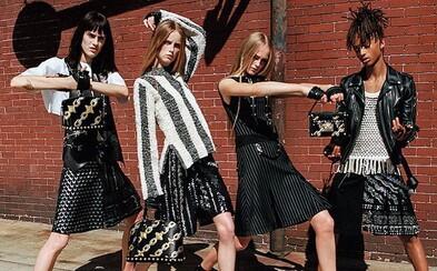 Syn Willa Smitha, Jaden, pózuje pre Louis Vuitton v sukni ako hlavná tvár ženskej kampane na rok 2016