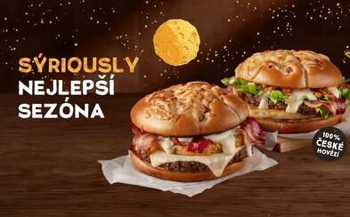 Sýrová sezona v McDonald's je tady!