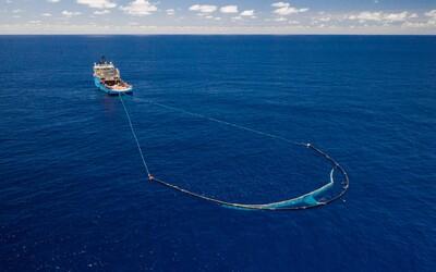 Systém pro čištění oceánů dostal další vylepšení. Plasty by měly zmizet do roku 2050