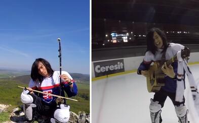 Taiwančan, ktorý miluje Slovensko, prichádza s ďalším hitom! Pišta Linovecký prespieval hokejovú hymnu Nech Bože dá