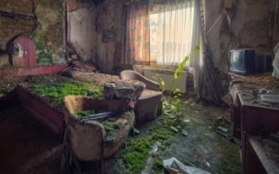 Tajomná atmosféra opustených budov
