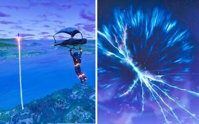 Tajomná raketa spôsobila multidimenzionálnu trhlinu. Fortnite znovu prilákal množstvo hráčov, ktorí namiesto zabíjania spolupracovali