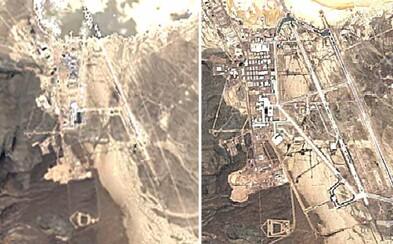 Tajomná základňa Area 51 sa za posledných 30 rokov solídne rozrástla. Google ti to dokáže vďaka satelitným záberom