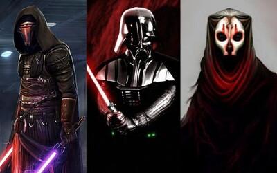 Tajomní Sithovia vládli Galaxii už mnohokrát. Akým kódexom sa riadia a ktorí mocní lordovia patrili počas dlhosiahlej histórie do ich radov?