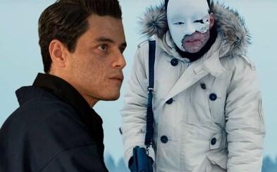 Tajomný trailer predstavuje hlavného záporáka novej Bondovky. Safina hrá Rami Malek
