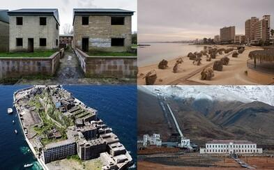 Tajuplné miesta, ktoré boli ľudia nútení opustiť kvôli rôznym katastrofám