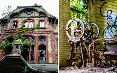 Tajuplné německé sanatorium, kde se léčil Hitler, ale zabíjel tam i sériový vrah a fotograf