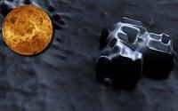 Tajuplné sídla a stavby na neďalekej Venuši? Muž spozoroval na jej povrchu netradičné útvary a upravil ich na 3D obrázky