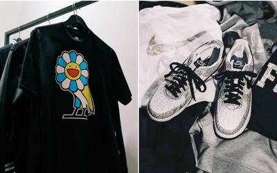 Takashi Murakami a Drake na spoločnej kolekcii a Nike Air Force 1 v haďej koži. Exkluzivity z ComplexConu vyrážajú dych