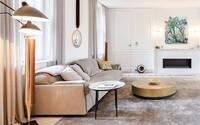 Takmer 200 štvorcových metrov, drahé materiály a nadčasový dizajn v historických kulisách. Praha odkrýva ďalšie bývanie snov