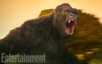 Takto bude vyzerať gigantický King Kong v novom filme s oscarovými hercami