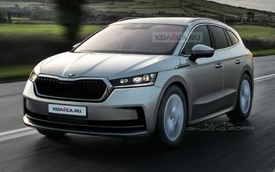 Takto bude vyzerať nová elektrická Škoda. Enyaq dostane futuristický kokpit a výkon až 306 koní