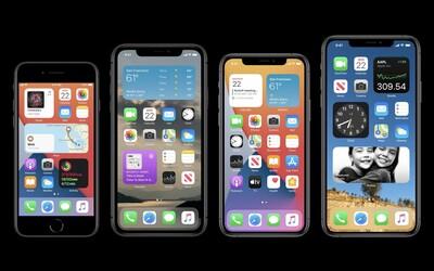 Takto bude vyzerať tvoj iPhone, keď si nainštaluješ iOS 14. Apple okopírovalo widgety aj ďalšie funkcie z Androidov