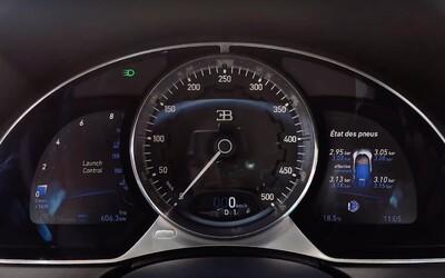 Takto famózně dokáže akcelerovat 1500koňové Bugatti Chiron z 0 na 350 km/h