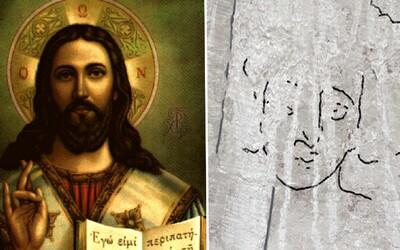 Takto možná vypadal Ježíš. V Izraeli našli neobvyklou podobiznu ve starém chrámu