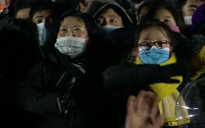 Takto oslavila Nový rok Severní Korea