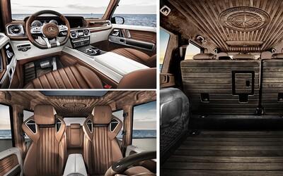 Takto to dopadne, keď sa Mercedes-AMG G 63 premení na ultra-luxusnú obývačku v štýle Maybachov