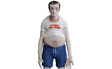 Takto prý budou vypadat závislí hráči za 20 let: Poškozená páteř, obezita a vypadané vlasy