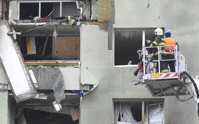 Takto vypadá panelák z Prešova po 24 hodinách od exploze. Z prvních svědectví obyvatel mrazí