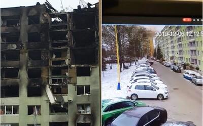 Takto vypadal výbuch ve 12:12:52: Video z bezpečnostní kamery jedné z restaurací zaznamenává explozi plynu v paneláku v Prešově