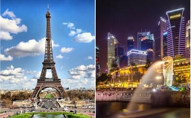 Takto vypadá aktuální žebříček nejdražších měst pro život. Skokanem roku je Paříž, která obsadila druhé místo