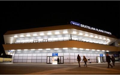 Takto vyzerá Hlavná stanica v Bratislave po vynovení. Pred majstrovstvami ju kompletne vyčistili