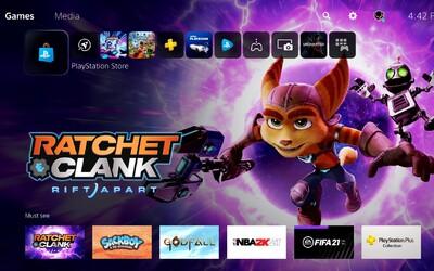 Takto vyzerá menu v PlayStation 5. Bude rýchle, prehľadné a hry spustíš behom pár sekúnd