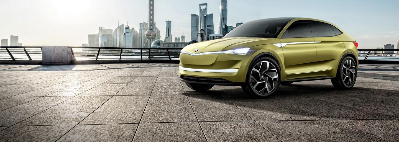 Takto vyzerá mimoriadne atraktívny elektromobil od Škody, problém mu nerobí ani autonómna jazda