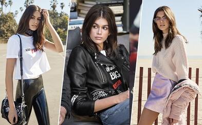 Takto vyzerá móda podľa kráľa elegancie a sexy Kalifornčanky. Jesenná kolekcia Karla Lagerfelda v podaní Kai Gerber prichádza na trh