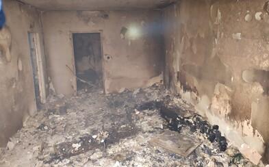 Takto vypadá panelák po explozi plynu v Prešově zevnitř: V plamenech shořelo všechno, zůstaly jen holé stěny