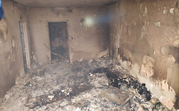 Takto vyzerá panelák po explózii plynu v Prešove zvnútra: V plameňoch zhorelo všetko, zostali len holé steny