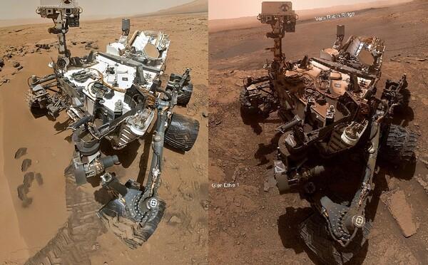 Takto vyzerá po 7 rokoch na Marse robot od NASA. Červená planéta mu nič nedarovala