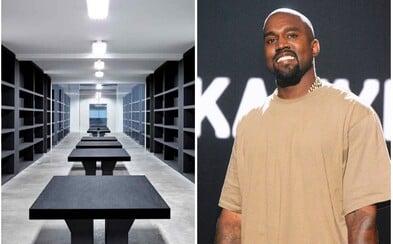Takto vypadá pracovní prostředí Kanyeho Westa, kde vznikají nejpopulárnější tenisky světa
