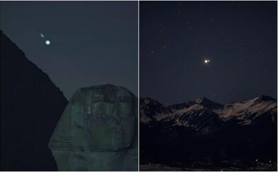 Takto vypadala vzácná konjunkce Jupiteru a Saturnu z různých částí světa. Nebeské divadlo se odehrálo po 400 letech