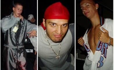 Takto vyzerali Separ, Momo, členovia H16, Kontrafaktu či Moloch Vlavo, keď bol ešte slovenský rap v plienkach