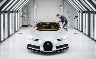 Takto vzniká Bugatti Chiron, majstrovské dielo a zároveň vrchol automobilového priemyslu za 2,4-milióna €