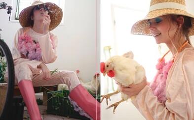 Talentovaná slovenská študentka predstavila kolekciu Girl Next Door. Je inšpirovaná detstvom a búra všetky stereotypy