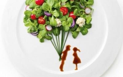 Talentovaná umelkyňa vytvára jedlé obrazy