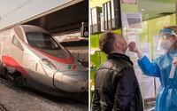 Taliani spustia Covid-free vlak. Pred nastúpením otestujú všetkých pasažierov