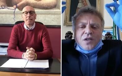 Italští starostové zoufale vyzývají krajany, aby zůstali doma. Pošleme policisty s plamenomety, vyhrožuje jeden