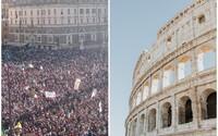 Taliansko zavádza prísne opatrenia. Do práce môžu chodiť len OTP ľudia, testy za 15 eur si musia hradiť sami