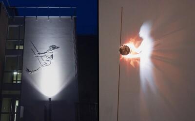 Taliansky umelec dokáže za pomoci svetla vytvárať čarovné umelecké diela, ktoré človeka ľahko dokážu upútať