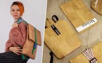 Táňa vyrába štýlové kabelky z korku. Materiál budúcnosti dokáže ekologicky nahradiť kožu