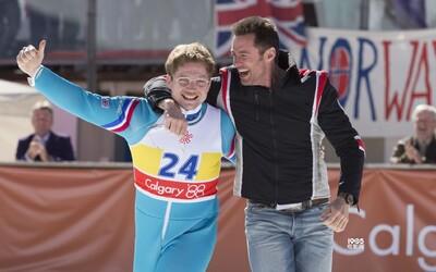 Taron Egerton a Hugh Jackman sa v biografickej komédii pokúsia prekonať olympijské rekordy, sú však iba na smiech